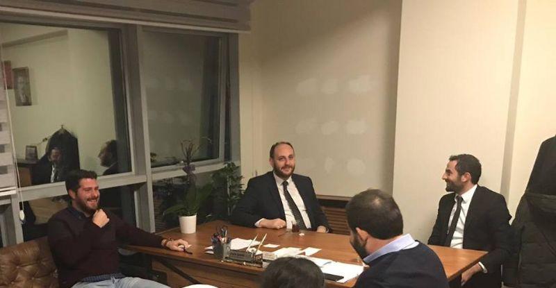 Ahmet Büyükgümüş, AK Gençliği ziyaret etti.
