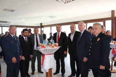Çiftlikköy'de Kurban Bayramı'nda protokolün bayramlaşması
