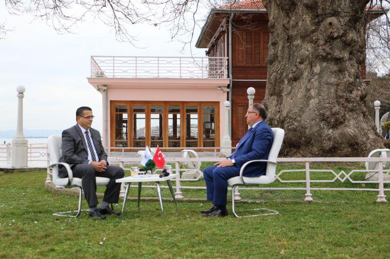 Yerel Gündemin konuğu Başkan Salman