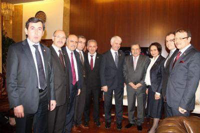 Coşkun'dan İçişleri Bakanı'na ziyaret