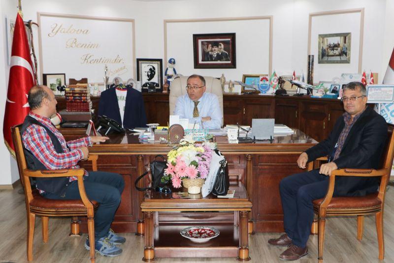 BAL-GÖÇ Derneği Başkan Salman'ı Ziyaret Etti