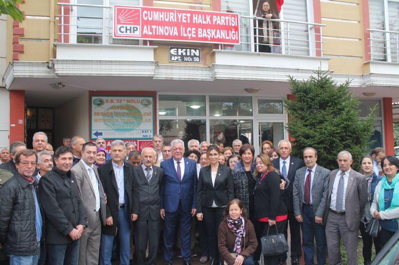 CHP Altınova Belediye Başkanı adayını açıkladı