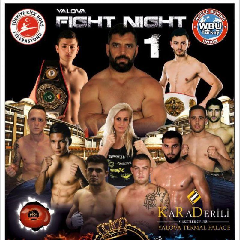 Yalova'da Kick Boks Gecesi