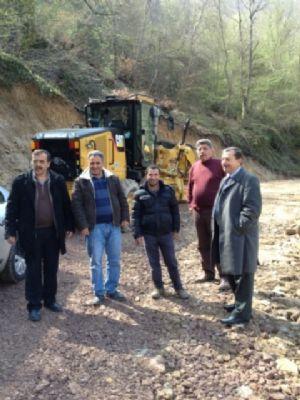Kurtköy Kapılı Çınar piknik alanının yolu yenilendi