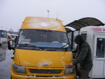 Yalova'ya yılın ilk karı