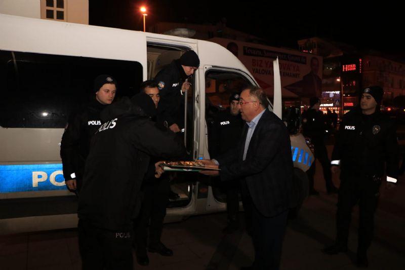 Başkan Salman, 2018 yılını Yalova'yı gezerek uğurladı