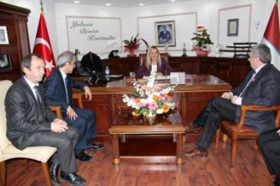 Kosova Heyeti'nden Yalova Belediyesi'ne Ziyaret