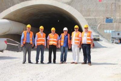 YTSO'dan, Samanlı Tüneli inşaatını inceleme