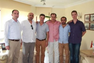 Kırım Sivastopol Yönetim Kurulu Üyesi Yuri Donets'den YTSO'ya ziyaret