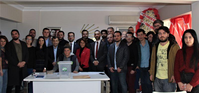 CHP'nin Merkez İlçe Gençliği, Yıldırım'a emanet