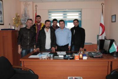 Ak Parti Çiftlikköy Gençlik Kolları'ndan Altıner'e ziyaret