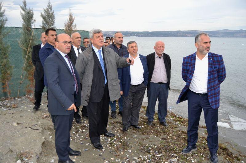 Karaosmanoğlu, Hersek Sahilini gezdi