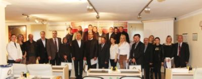 YTSO'ya Şubat ayı'nda yeni kayıt olan üyelere, sertifika töreni