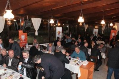 Başkan Koçal, AK Parti Teşkilatıyla Bahane Cafe Restaurant'ta Bir Araya Geldi