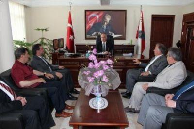 Başkan Koçal'dan Müdür Yüksel'e Ziyaret
