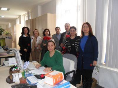Büro Memursen, 8 Mart Dünya Kadınlar Günü'nü Kutladı