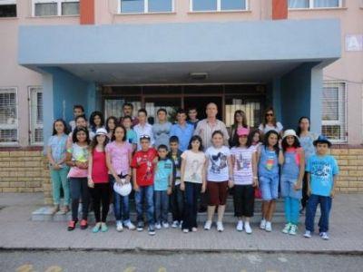 Taşköprü İlköğretim Okulu öğrencileri, Macaristan yolunda