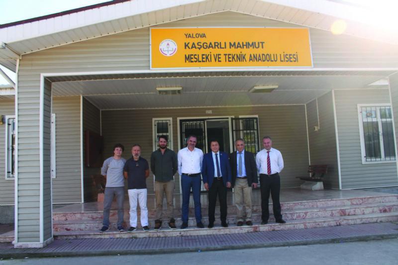 Tali'den Kaşgarlı Mahmut Mesleki ve Teknik Anadolu Lisesi'ne ziyaret