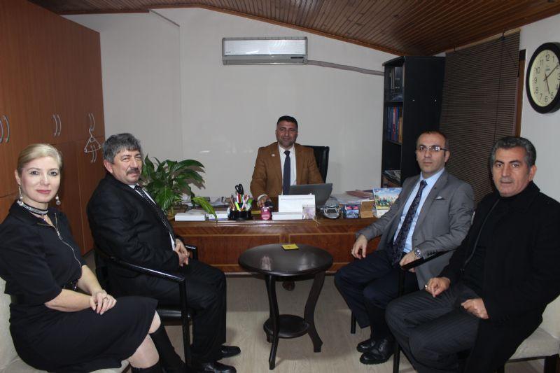 MHP'lilerden YGC yönetimine ziyaret