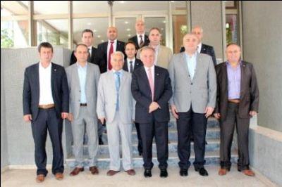 YTSO yeni yönetiminden Başkan Koçal'a Ziyaret