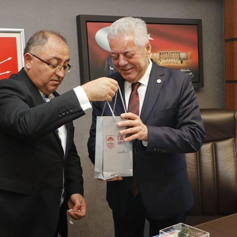 Başkan Salman Ankara'da