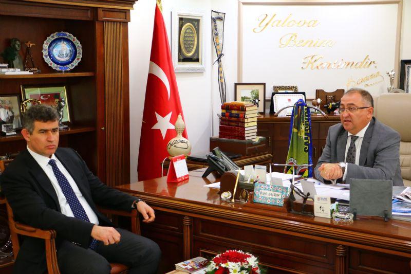 Feyzioğlu'ndan Başkan Salman'a ziyaret