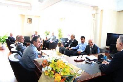 YTSO'dan, Emniyet Müdürü Hüseyin Ümit Yüksel'e ziyaret