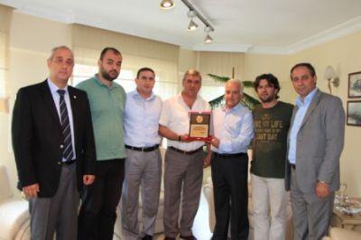 YTSO Yönetim Kurulu'na ziyaretler sürüyor