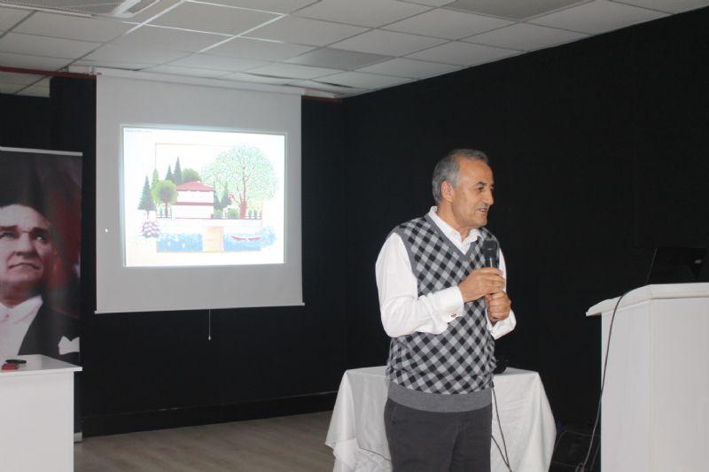 Metin Erdoğan, 'Dört Efsane Çevreci' kitabını tanıttı