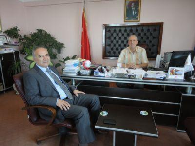 Yalova İl Emniyet Müdürü Hüseyin Ümit Yüksel'den Ertan'a ziyaret