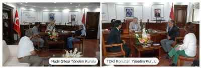 Yeni Yönetimlerden Başkan Koçal'a Ziyaret