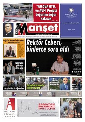 Manşet Gazetesi - 22.05.2020 Manşeti