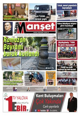 Manşet Gazetesi - 29.05.2020 Manşeti