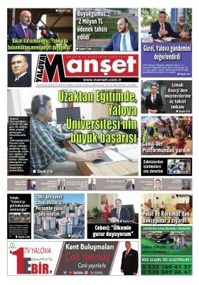 Manşet Gazetesi - 18.06.2020 Manşeti