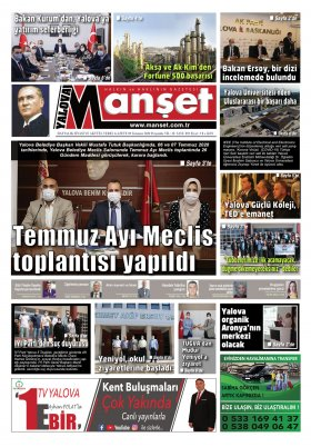 Manşet Gazetesi - 09.07.2020 Manşeti