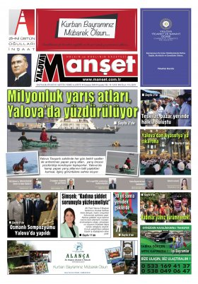 Manşet Gazetesi - 30.07.2020 Manşeti