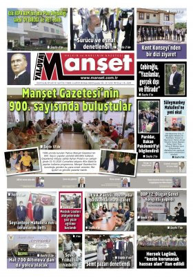 Manşet Gazetesi - 08.10.2020 Manşeti