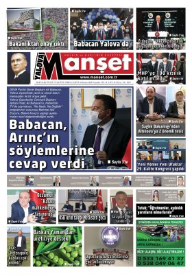 Manşet Gazetesi - 26.11.2020 Manşeti