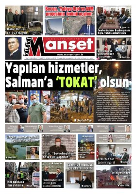 Manşet Gazetesi - 17.12.2020 Manşeti