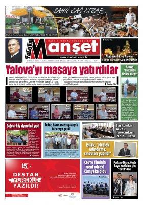 Manşet Gazetesi - 12.07.2019 Manşeti