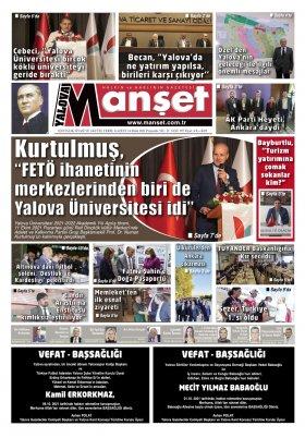 Manşet Gazetesi - 14.10.2021 Manşeti