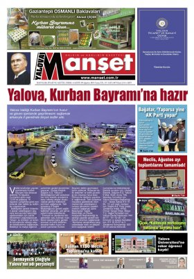 Manşet Gazetesi - 09.08.2019 Manşeti