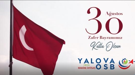 Yalova İMES OSB Zafer Bayramını kutladı