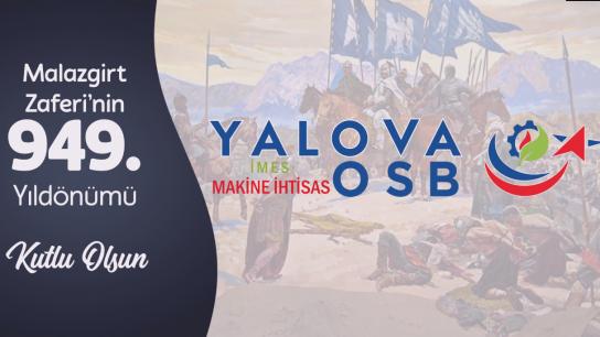 Yalova İMES OSB Malazgirt Zaferinin 949. yıl dönümünü kutladı