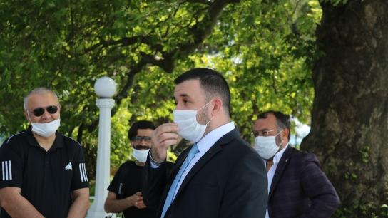 AK Parti Yalova İl Başkanı Muğlim Bağatar Yalova Belediyesi'ndeki yolsuzluk hakkında konuştu