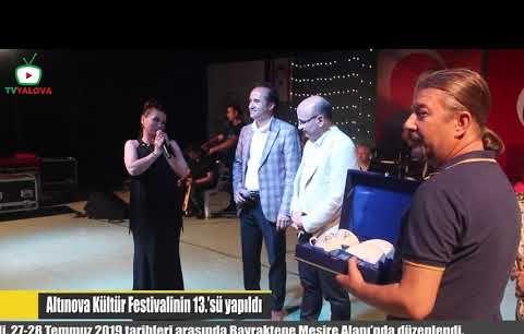 Altınova Kültür Festivalinin 13'sü Yapıldı