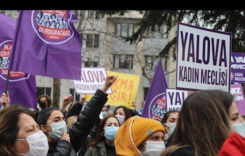 """Kadın Cinayetlerini Durduracağız Platformu, """"Kararı geri çek, sözleşmeyi uygula"""""""